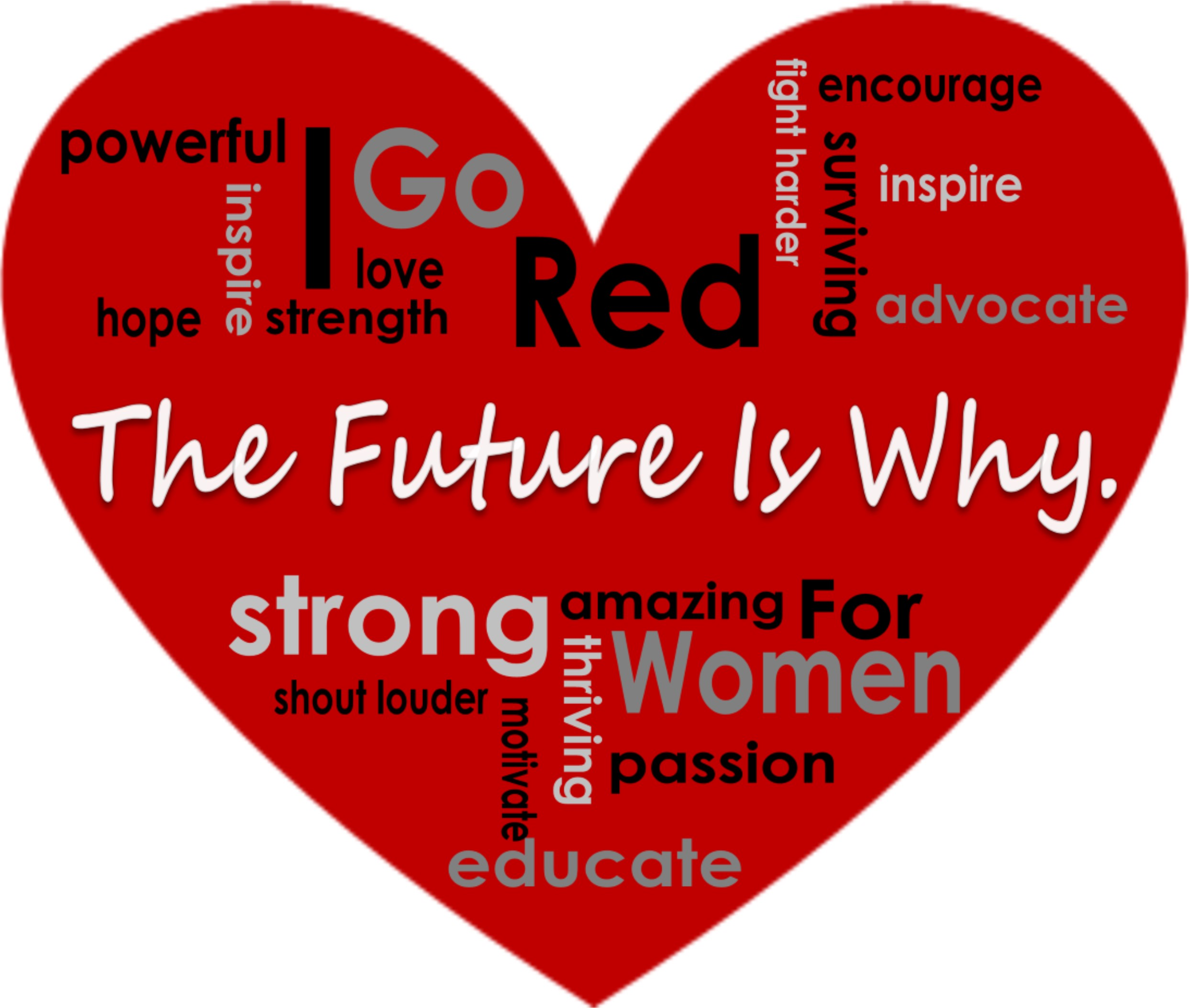 Image result for go red for women images